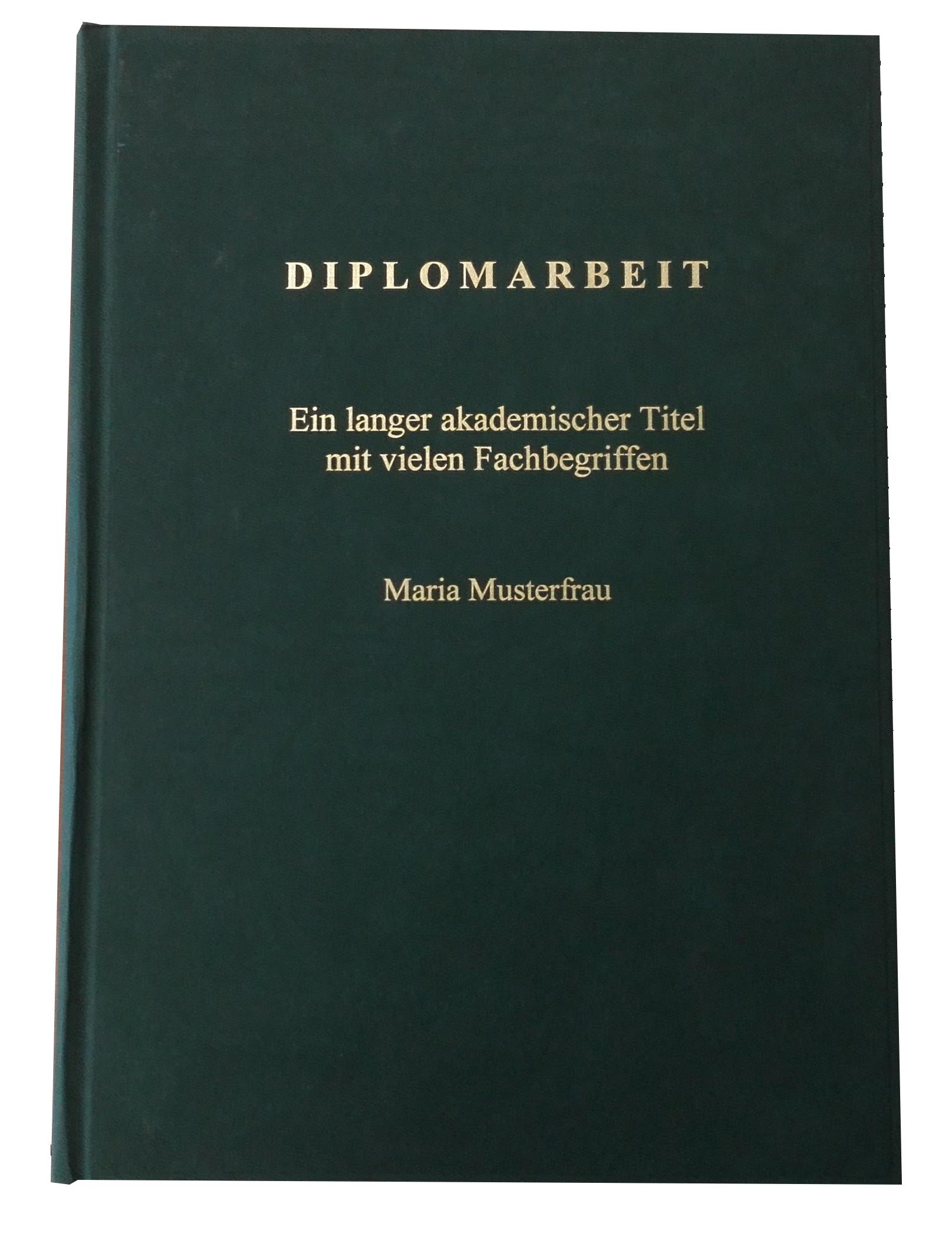 Hardcover Coverdruck