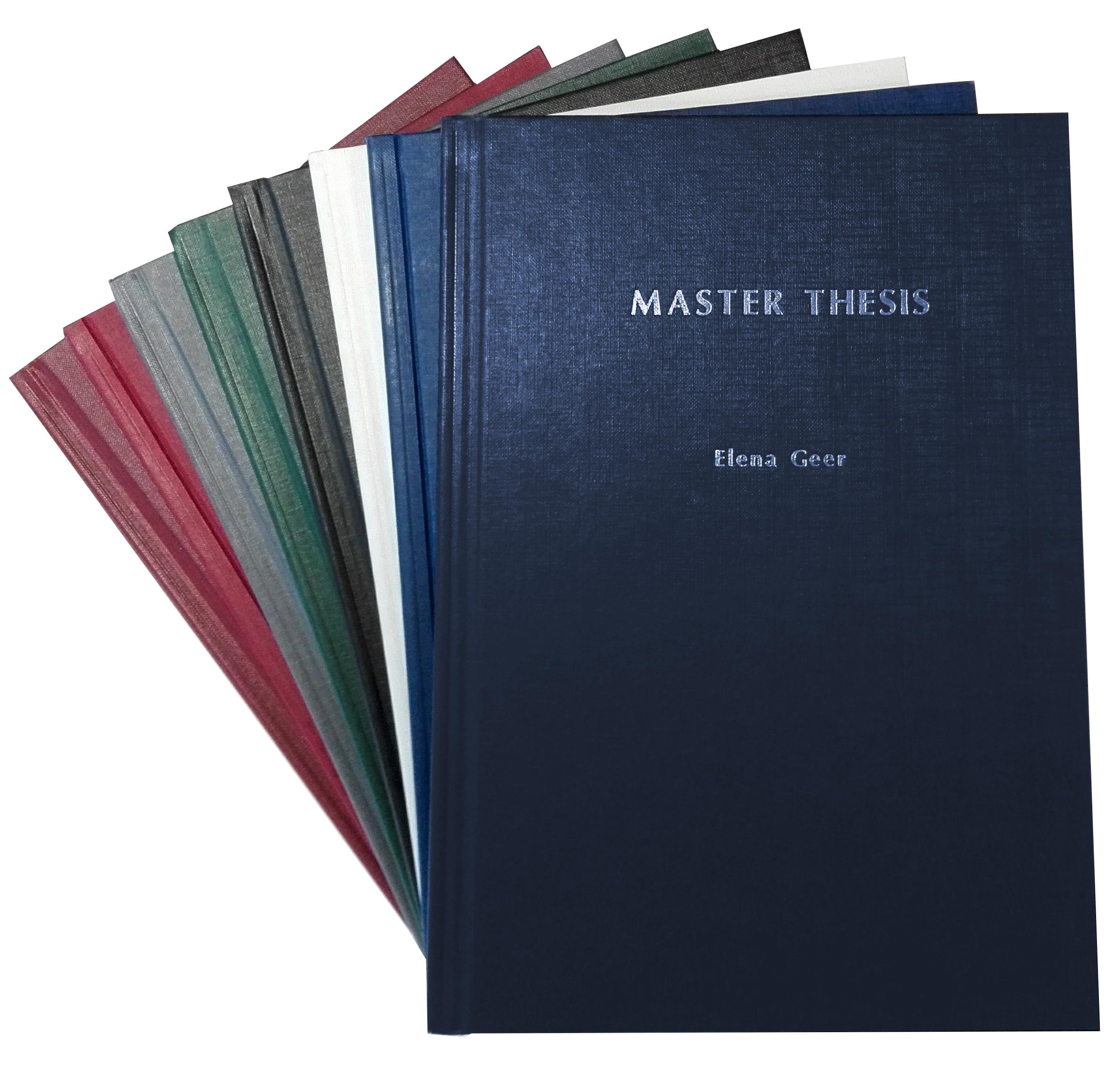 master thesis drucken binden stuttgart
