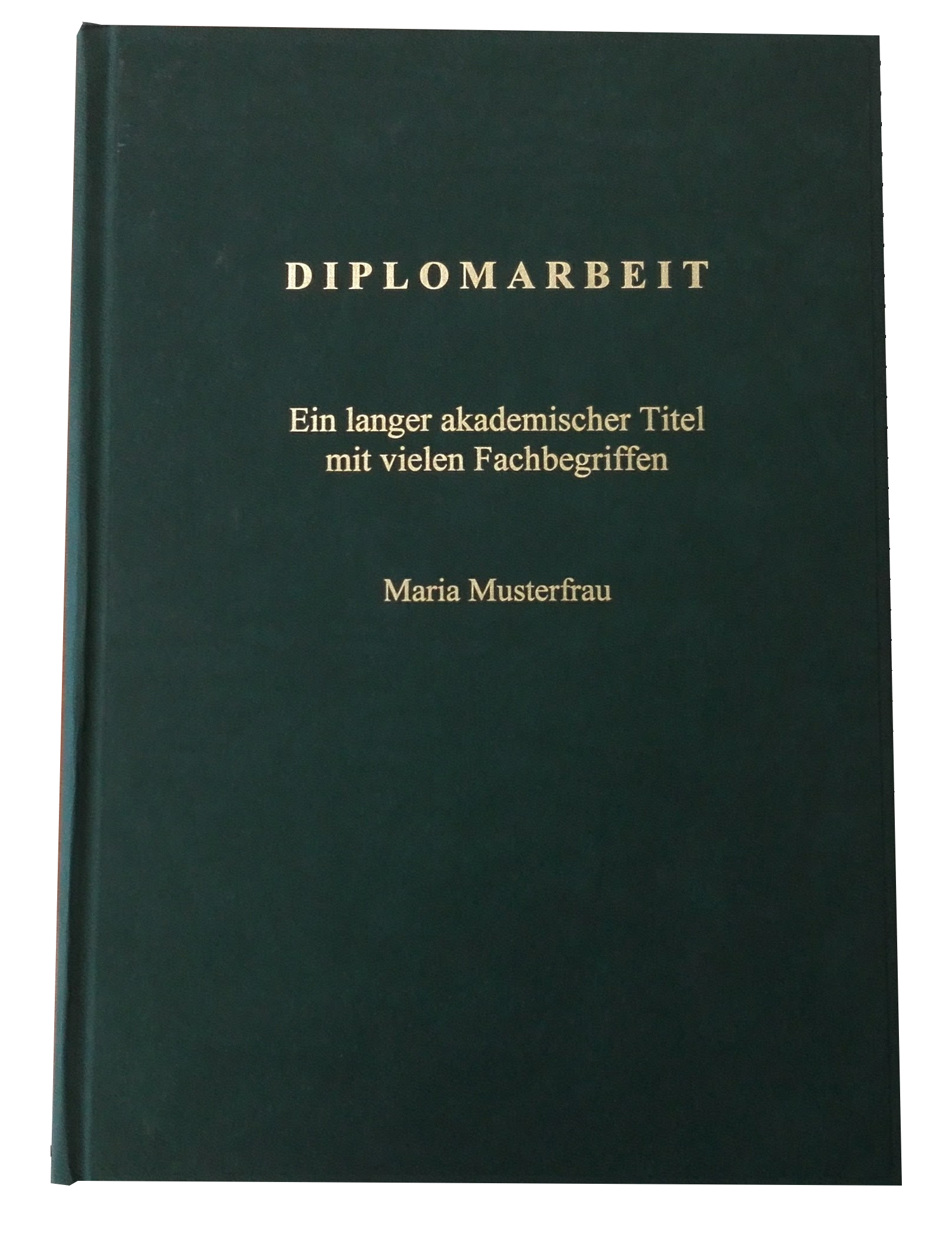 Hardcover Coverdruck